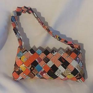 No brand name handbag multicolored